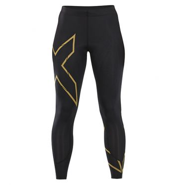 2XU MCS Run Compressie tights zwart/goud dames