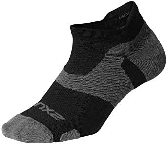2XU Vectr merino light Noshow compressie sokken zwart