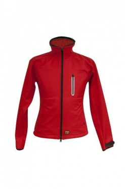 30seven Softshell Jas Dames Rood