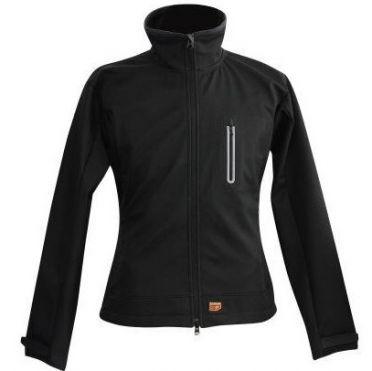 30Seven softshell jas dames zwart
