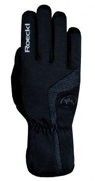 Roeckl Reinbek winter fietshandschoenen zwart unisex