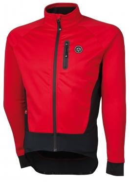 Agu Tirano fietsjack rood heren