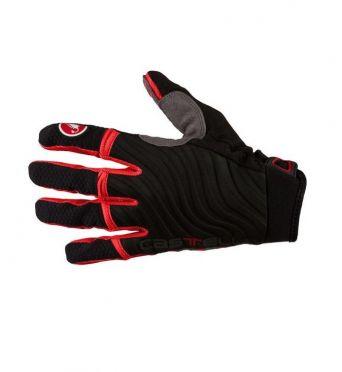 Castelli CW. 6.0 cross gloves zwart/rood heren 11539-910