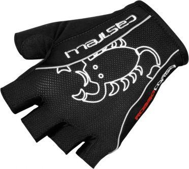 Castelli Fietshandschoen rosso corsa classic glove zwart