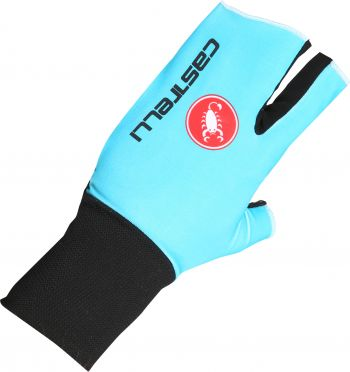Castelli Aero speed glove blauw heren
