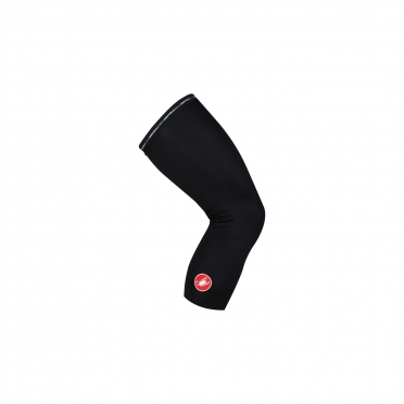 Castelli UPF 50+ light kniewarmers zwart 16038-010