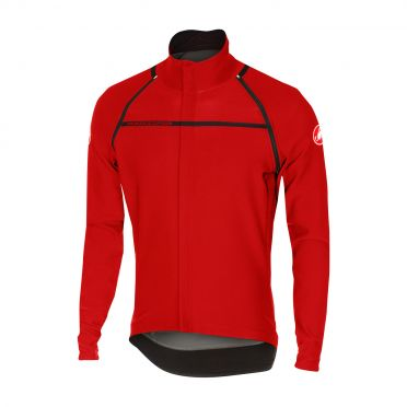 Castelli Perfetto convertible jacket rood heren 16506-023