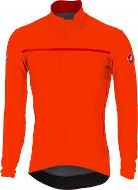 Castelli Perfetto lange mouw jacket oranje heren