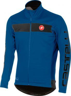 Castelli Raddoppia jacket blauw heren