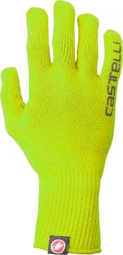 Castelli Corridore glove fietshandschoenen fluo geel heren