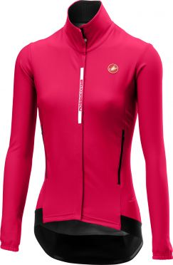 Castelli Perfetto W lange mouw fietsjacket roze dames