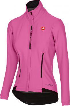 Castelli Perfetto W lange mouw fietsjacket giro roze dames - Limited Edition