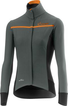 Castelli Trasparente 3 W fietsshirt lange mouw forest grijs dames