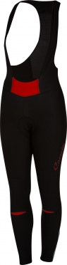 Castelli Chic bibtight zwart/rood dames 16551-023