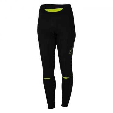 Castelli Chic tight zwart/lime dames