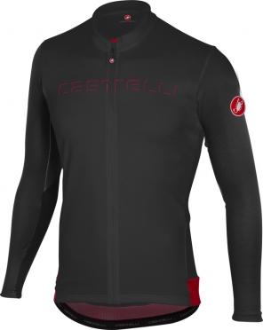 Castelli Prologo V fietsshirt lange mouw zwart heren