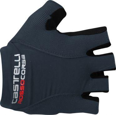 Castelli Rosso corsa pave glove fietshandschoenen donker blauw heren