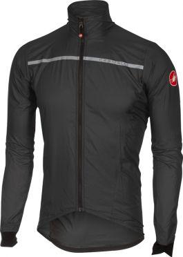 Castelli Superleggera jacket antraciet/geel heren