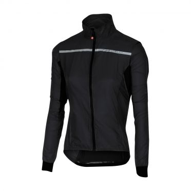 Castelli Superleggera W jacket regenjack zwart dames