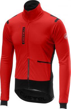 Castelli Alpha RoS jacket rood/zwart heren