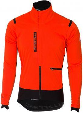 Castelli Alpha RoS jacket oranje/zwart heren