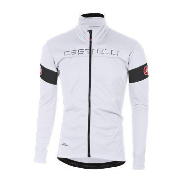 Castelli Transition jacket wit/zwart heren