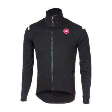 Castelli Alpha ros fietsshirt lange mouw zwart heren