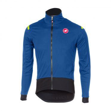 Castelli Alpha ros fietsshirt lange mouw blauw heren