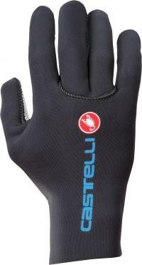 Castelli Diluvio c glove fietshandschoenen zwart/blauw heren