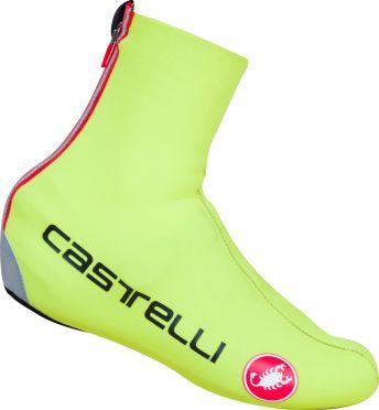 Castelli Diluvio c overschoen fluo geel heren