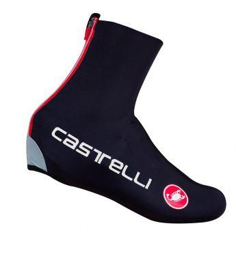 Castelli Diluvio c overschoen zwart heren