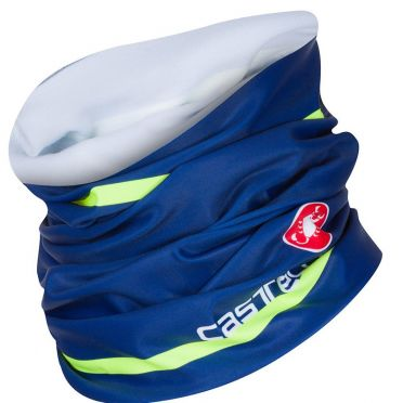 Castelli Arrivo 2 thermo head thingy blauw heren