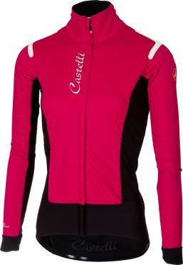 Castelli Alpha RoS W jacket roze/zwart dames