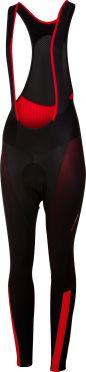 Castelli Sorpasso 2 bibtight zwart/rood dames