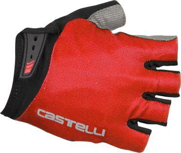 Castelli Entrata glove fietshandschoenen rood heren
