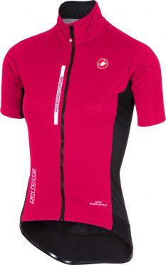 Castelli Perfetto light W korte mouw jacket roze dames