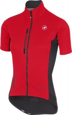 Castelli Perfetto light W korte mouw jacket rood dames