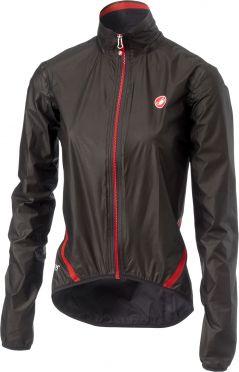 Castelli Idro W regen jacket zwart dames