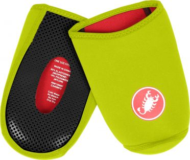 Castelli Toe thingy 2 teenbeschermer fluo geel heren