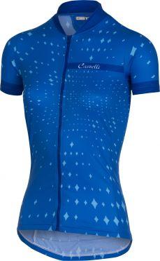 Castelli Stella fietsshirt blauw dames