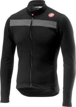 Castelli Puro 3 lange mouw fietsshirt licht zwart heren