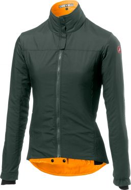 Castelli Elemento lite W lange mouw jacket forest grijs dames