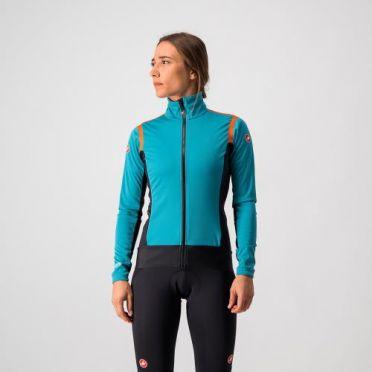 Castelli Alpha RoS 2 light fietsjack lichtblauw dames