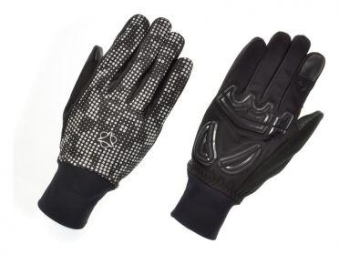 Agu Windproof hivis handschoenen zwart