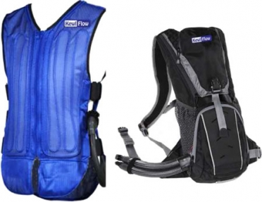 TechNiche KewlFlow Circulatory Cooling Vest with Portable Backpack