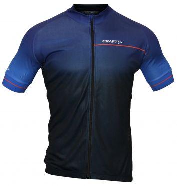 Craft Summer fietsshirt blauw heren