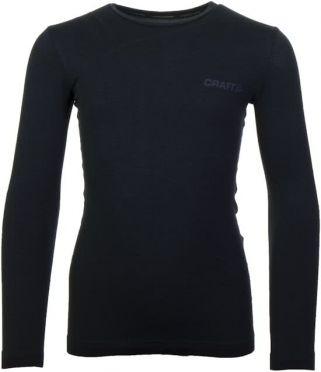 Craft Active Comfort lange mouw ondershirt zwart/solid kind/junior
