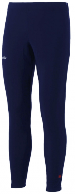 Craft Thermo Schaatsbroek met rits navy unisex