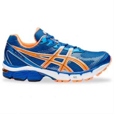 Asics Gel Pulse 4 heren hardloopschoen orange blue