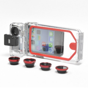 Optrix PhotoProX Bundel sportcamera voor iPhone 5/5S